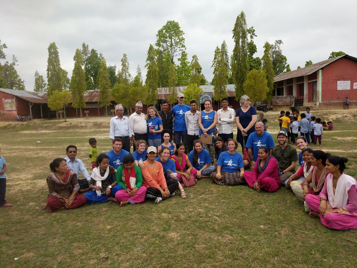 The beginnings of a new relationship. #WWEP #Lincs2Nepal #Chitwan #InitTogether